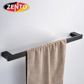 Giá treo khăn đơn inox304 Black series Zento HC6808